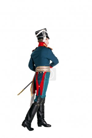 Guardsman with a saber nineteenth century