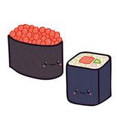 Doodle sushi
