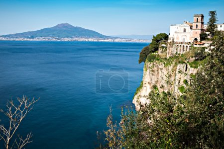 Church in Sorrento coast, Naples. Italy