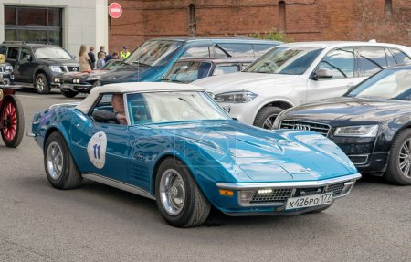 Retro rally Chevrolet Corvette C3