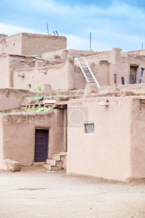 Taos Pueblo remarkable example of a traditional type of archit