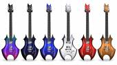 color variations of the electric guitar2