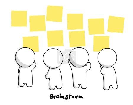 Mr.Simple in Brainstorm Action