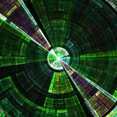 Pozadí abstraktní radiální