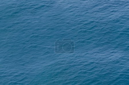 Photo for Blue Sea with Little Waves from Above - Royalty Free Image