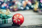 Vánoční dárkové krabičky s výzdobou