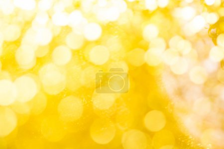 Gold spring or summer, Christmas Glittering background.Holiday a