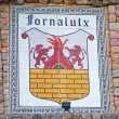 Постер, плакат: Coat of arms in Fornalutx