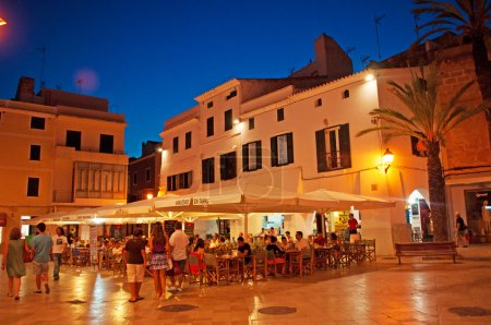 Menorca, Balearic Islands, Spain: palaces in the streets of Ciutadella