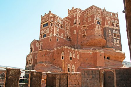 Dar al-Hajar, Dar al Hajar, the Rock Palace, royal palace, iconic symbol, Yemen