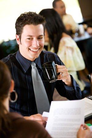 Coffee: Doing Work Over Coffee