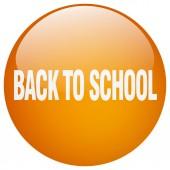Zpátky do školy, oranžové kolo gel samostatný tlačítko