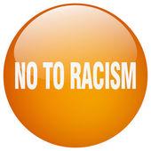 Ne rasismu oranžové kolo gelu, samostatný tlačítko