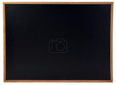 Black Chulkboard over isolated white background