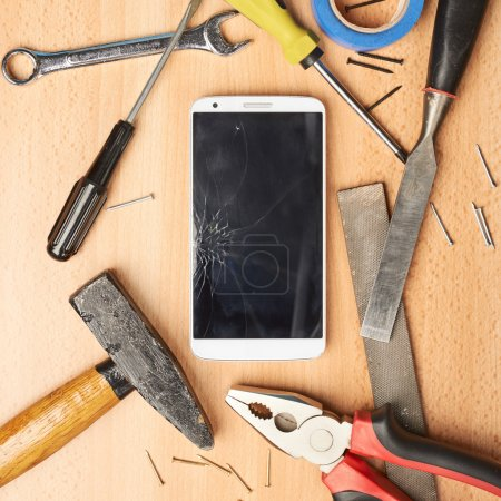 Repair mobile phone