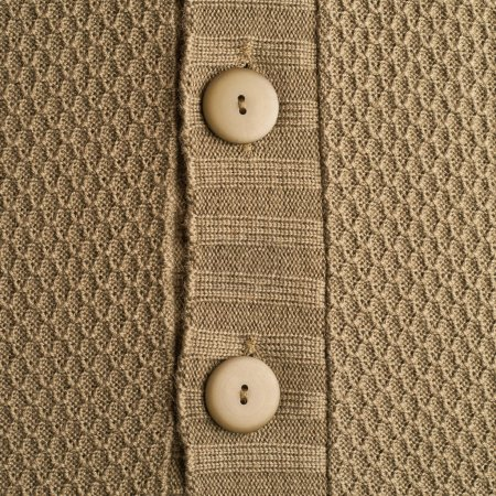 Knitted beige cloth