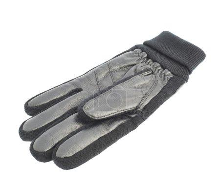 Black winter glove