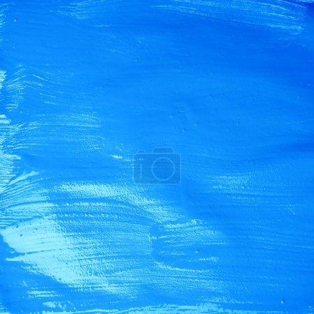 Surface covered with oil paint