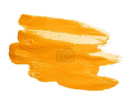 Hand made oil paint brush stroke
