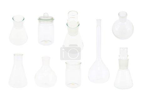 Set of multiple chemistry glasswares