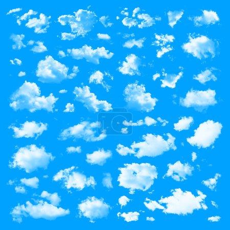 Ensemble de plusieurs nuages