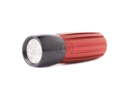 Red pocket flashlight