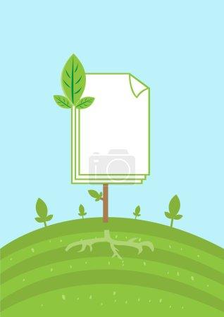 Printing Paper Environmental Friendly Production. ...