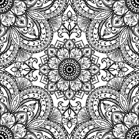 Sketch for fabric printed cloth.
