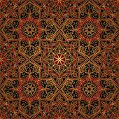 Dark east medieval pattern