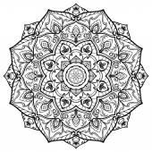 Mandala for tattoo