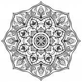 Round stylized ornament