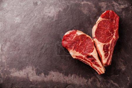 Heart shape Raw fresh meat
