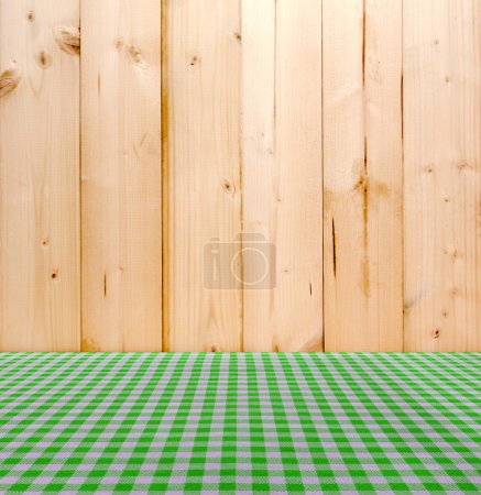 Tischdecke für die Essensausgabe Hintergrund