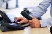 Ember tárcsázási telefonbillentyűzet