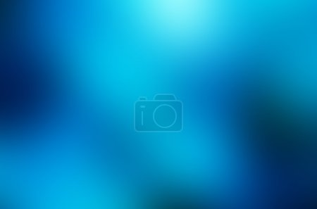 Photo for Abstract blue blur background with copy space - Royalty Free Image