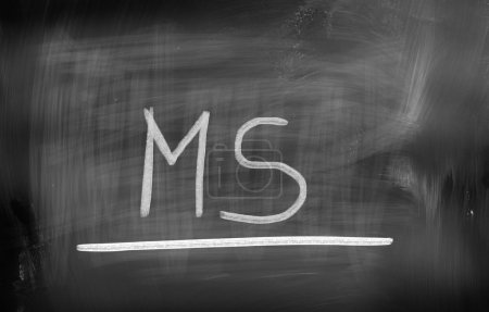 Photo for Multiple Sclerosis Concept - Royalty Free Image