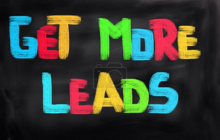 Get More Leads Concept