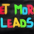 Get More Leads Concept...