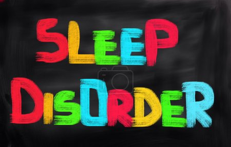 Photo for Sleep Disorder Concept - Royalty Free Image