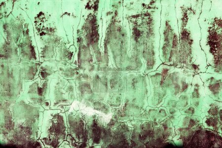 Photo for Cracked concrete vintage wall background,dirty old wall - Royalty Free Image