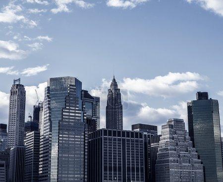 Photo pour Lower Manhattan New York City. É.-u. - image libre de droit