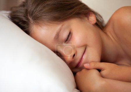 girl smiling in dreem