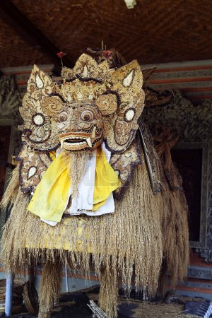 Photo for Traditional Balinese God statue in Central Bali temple. Indonesia - Royalty Free Image