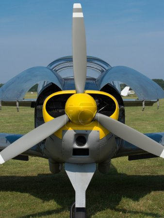 Propeller of an airplane engine