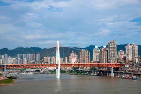 One section of the bridge Linjiangmen Yuzhong District