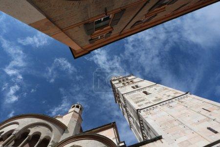 Ghirlandina bell tower, modena, italy...