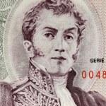 Original photo antonio narino portrait on banknote...