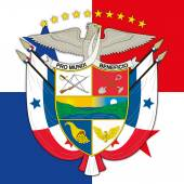 panama coat of arms and flag
