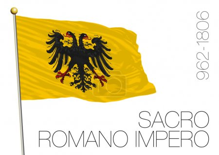 holy roman empire historical flag