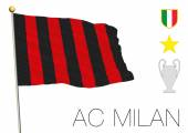 milan football flag